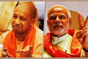 The BJP went to the polls in UP with Modi's face and did not declare a chief ministerial candidate. Credit: Reuters
