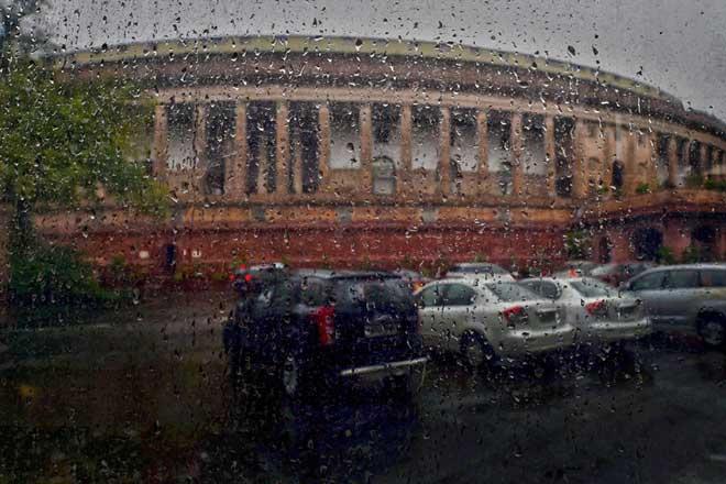 Lok Sabha's productivity was 67% and Rajya Sabha's productivity was 72% this monsoon session. Credit: PTI