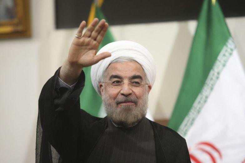 Iranian president Hassan Rouhani. Credit: Reuters