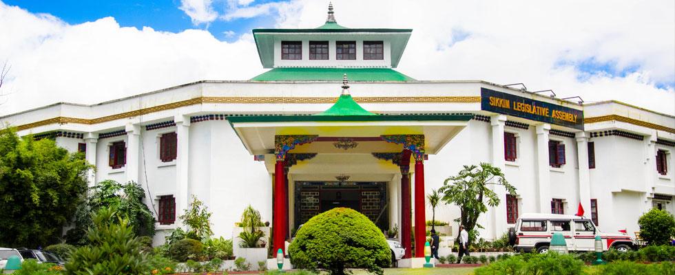 Sikkim legislative assembly. Credit: Government of Sikkim