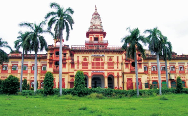 Banaras Hindu University is a public central university located in Varanasi, Uttar Pradesh. Credit: BHU website