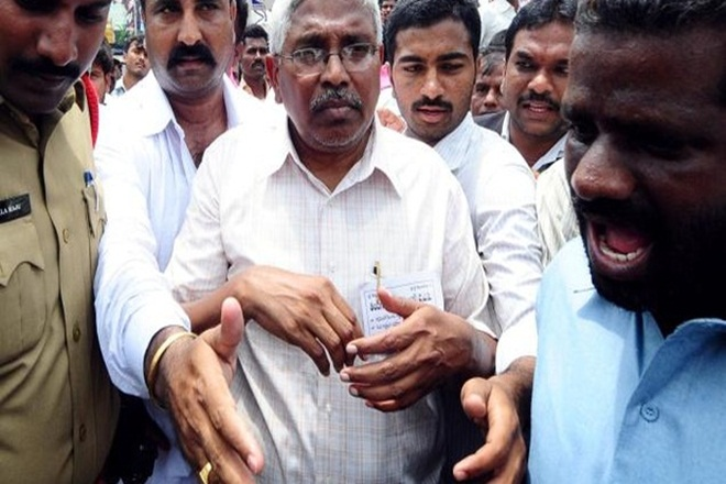 Prof M. Kodandaram, well-known Telangana activist and academic, initiated the formation of TAC to campaign against corruption in the state. Credit: PTI