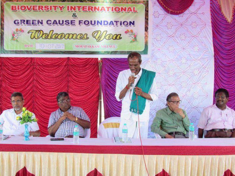 Inauguration of the project in in Tamil Nadu's Morapakkam village located in Madurantakam Taluk in Kanchipuram district. Credit: M.J. Prabhu