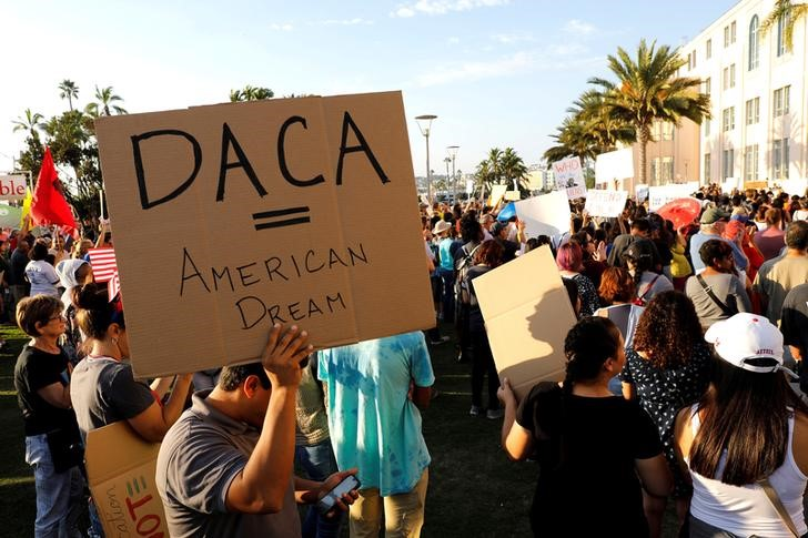 4 more states sue Trump administration for canceling DACA