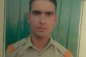 BSF constable Mohammad Ramzan Parrey. Credit: Twitter