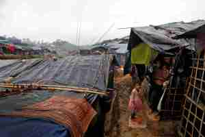 Rohingya refugees are seen in a camp in Cox's Bazar, Bangladesh, September 19, 2017. Credit: Reuters/Cathal McNaughton