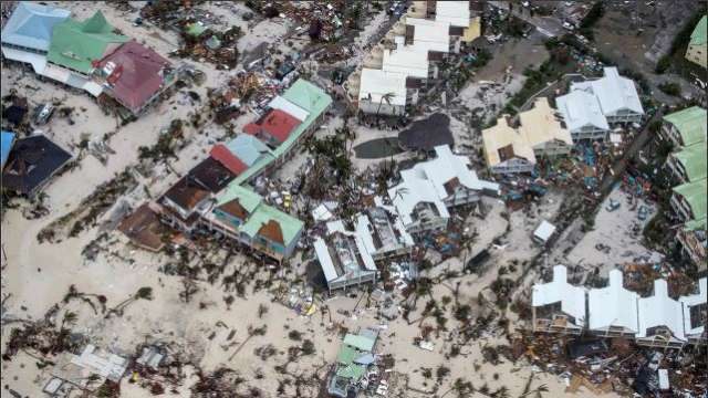 View of the aftermath of Hurricane Irma on Sint Maarten Dutch part of Saint Martin island in the Caribbean September 6, 2017 Credit:Reuters