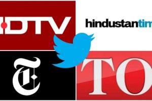 journalists social media