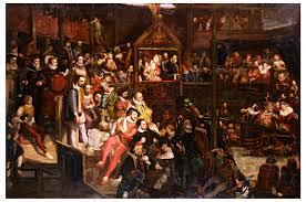 Elizabethan Theatre. Credit: Wikipedia