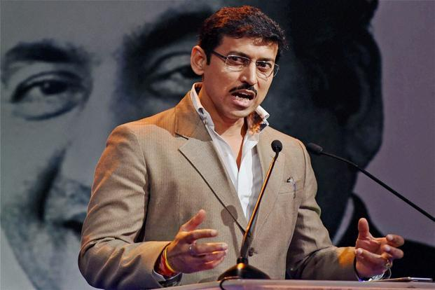 Newly-appointed sports minister Rajyavardhan Singh Rathore. Credit: PTI