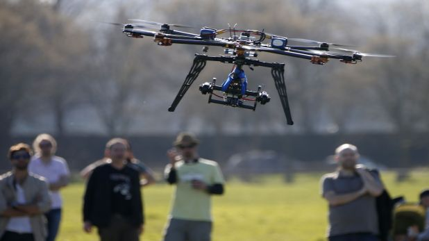 Both the DGCA and MHA by themselves have an extremely limited approach towards drones. Credit: Reuters