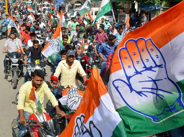 Congress won 57 of 81 seats sweeping municipal elections in Maharashtra's Nanded-Waghala. Credit: PTI