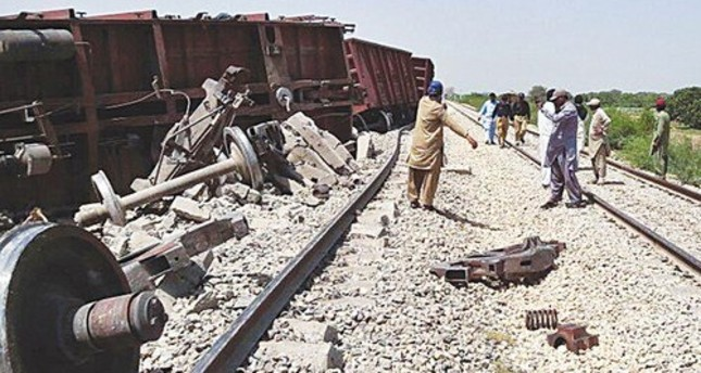 At least 6 injured due to a bomb going off along railway tracks. Credit: Twitter Photo