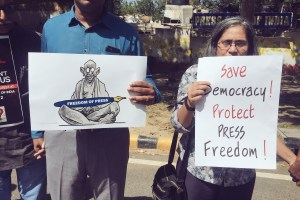 press club of india, journalist protest, gauri lankesh, media, indian media