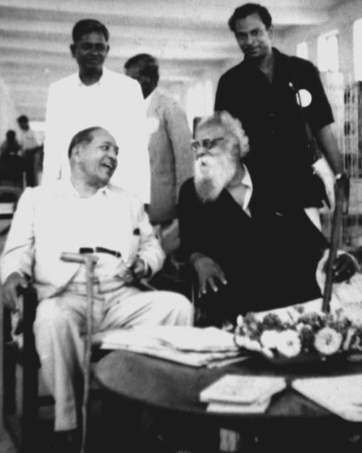 B.R. Ambedkar and Periyar in 1954. Credit: Wikimedia Commons