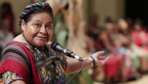 Guatemalan Nobel laureate Rigoberta Menchú. Credit: Reuters