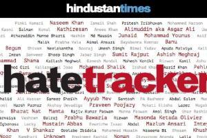 hindustan times, hate tracker