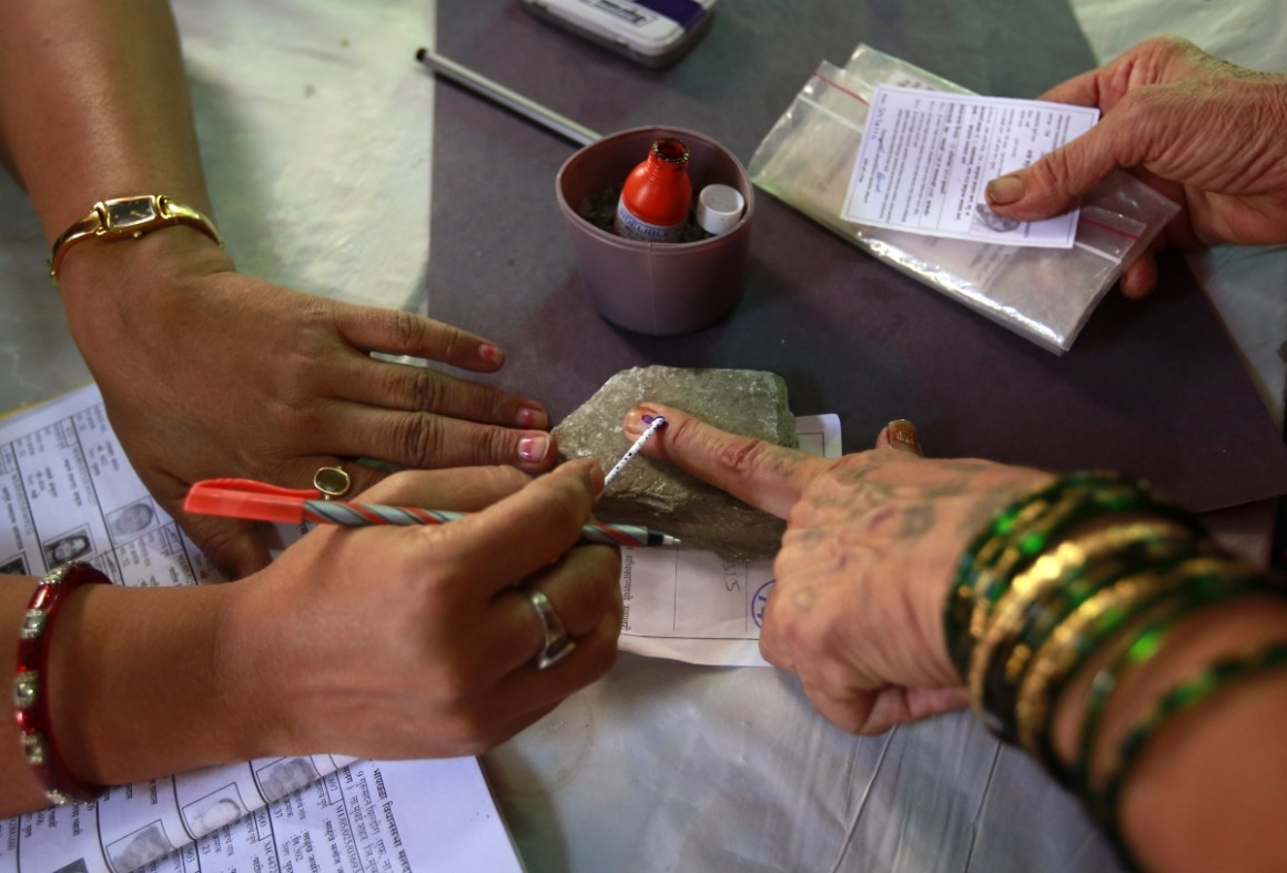 The BJP has been propagating simultaneous elections for a while now. Representative image. Credit: Reuters
