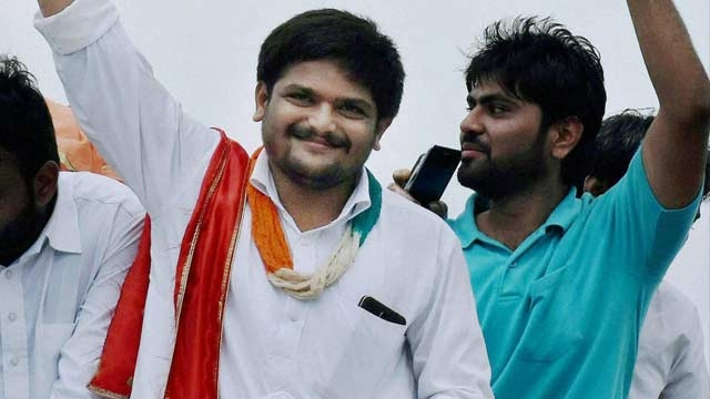 'Congress has agreed to qive quotas to Patidars,' says Hardik Patel