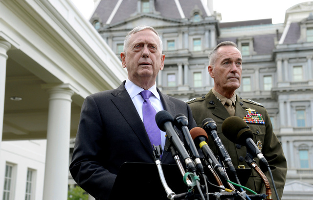 Afghanistan pull-out would be 'to our ultimate peril': James Mattis