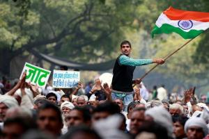 New Delhi's iconic Jantar Mantar protest venue. Credit: Reuters
