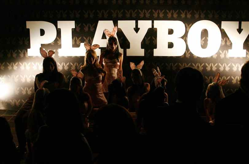 Playboy was selling an idea of the ideal woman and it was essentially a shell of a person to hang prettily on a man's arm as he luxuriated in expensive goods and services. Credit: Reuters