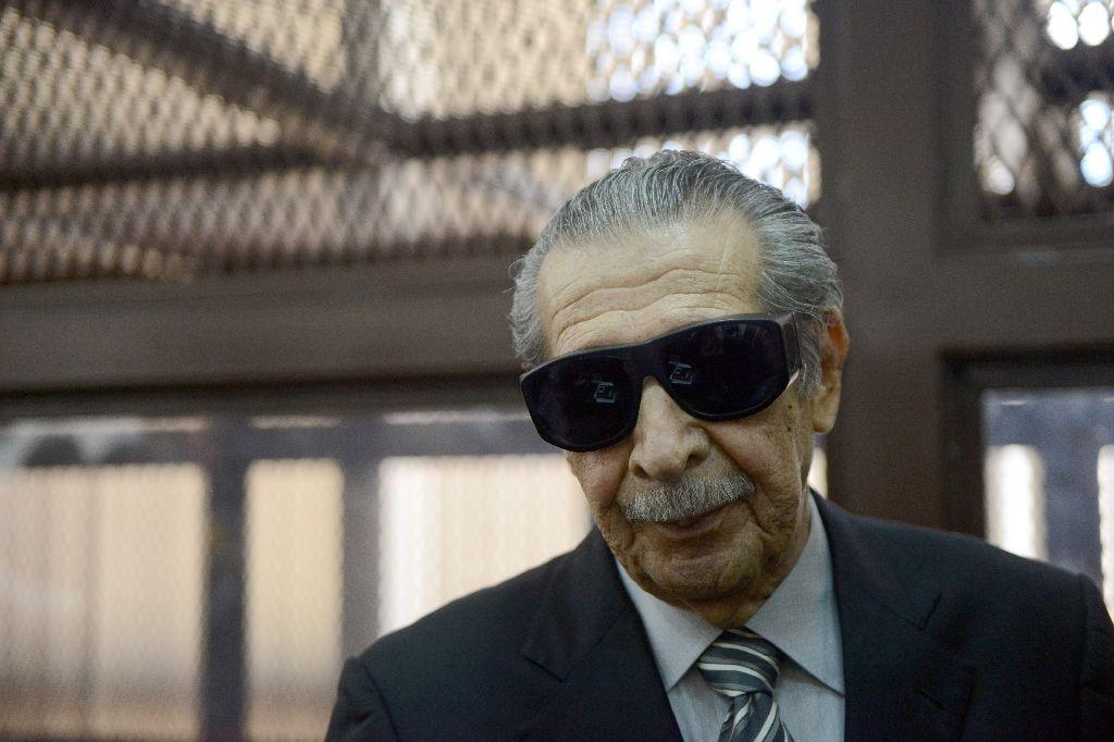 Former Guatemalan dictator José Efraín Ríos Montt. Credit: Reuters