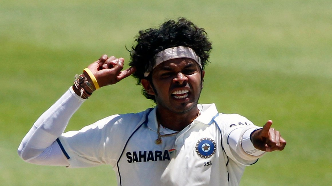Where ever Sreesanth went, drama, coupled with a tinge of controversy, followed him. Credit: Reuters