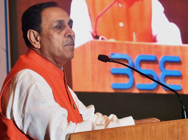 Gujarat chief minister Vijay Rupani. Credit: PTI