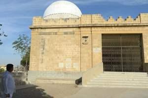 A Parsi religious monument in Karachi | Credit: AFP