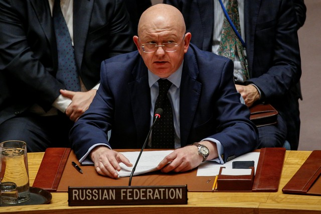 Russian Federation vetoes U.S. resolution on Syria chemical weapons use
