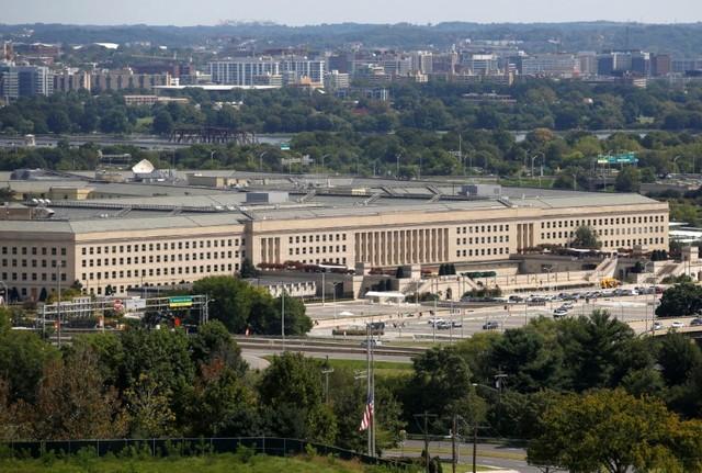 The Pentagon is shown in Arlington, Virginia, US, September 11, 2017. Credit: Reuters/Joshua Roberts/Files