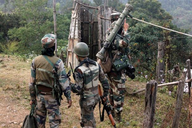 File photo of Assam Rifles jawans. Credit: PTI