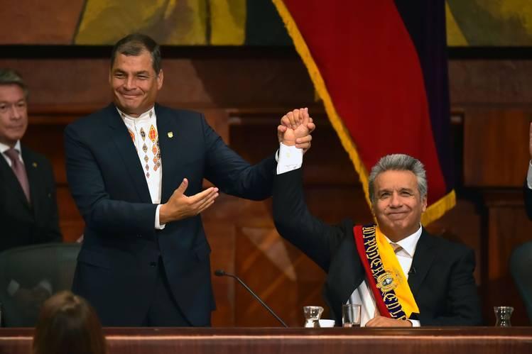 Amigos no more. Credit: Reuters