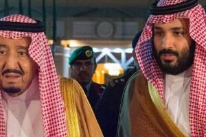 Saudi Arabia's King Salman and his son, Crown Prince Mohammed bin Salman. Credit: Reuters