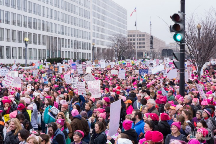 Women's March in USA. Credit: Wikipedia
