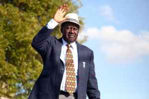 Kenya's National Super Alliance opposition leader, Raila Odinga. Credit: Reuters/Stringer