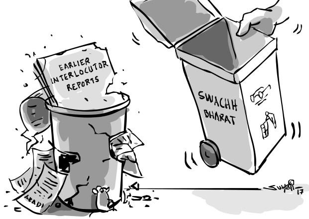 Suhail Naqshbandi's cartoon