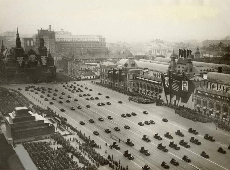 October Revolution parade 1933