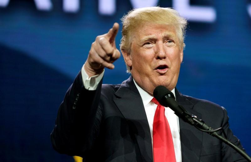 US President Donald Trump. Credit: Reuters