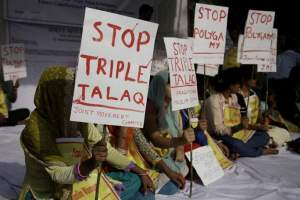 The practice of triple talaq has been made void and illegal by the government. Credit: PTI