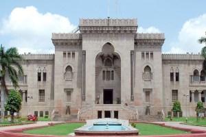 Osmania University. Credit: Osmania University website