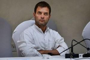 Rahul Gandhi. Credit: PTI