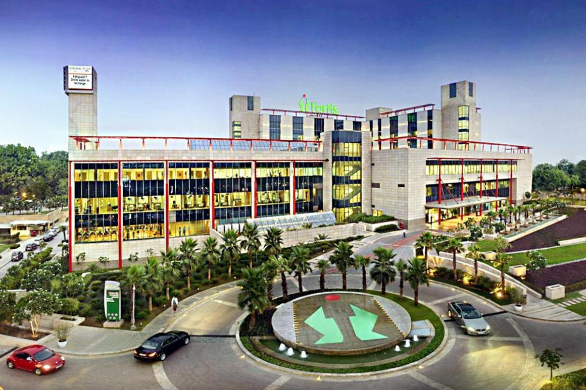 Fortis Memorial Research Institute, Gurgaon. Courtesy: PractoFortis Memorial Research Institute, Gurgaon. Courtesy: Practo