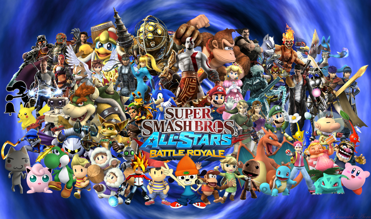 Super Smash Bros And Playstation All Stars What Can They