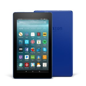 Amazon Fire 7 Tablet with Alexa - Marine Blue