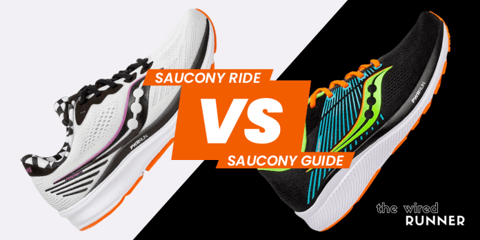 Saucony Ride Vs Saucony Guide Which Shoe Is Best For You The Wired Runner
