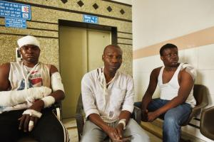 Nigerians Attack Greater Noida HT Photos