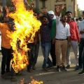 ABVP_Protesting_at_BHU