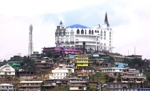 Asias-largest-Baptist-church-in-Nagaland-Photo-twitter